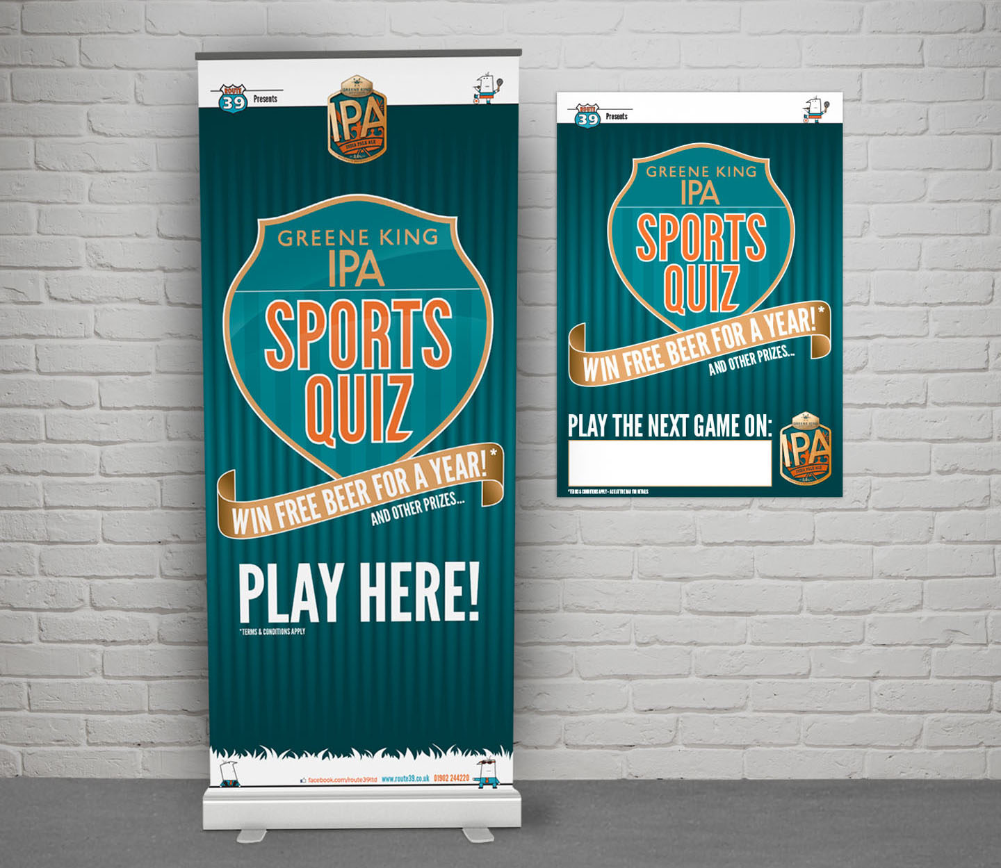 Marketing collateral – banner and poster