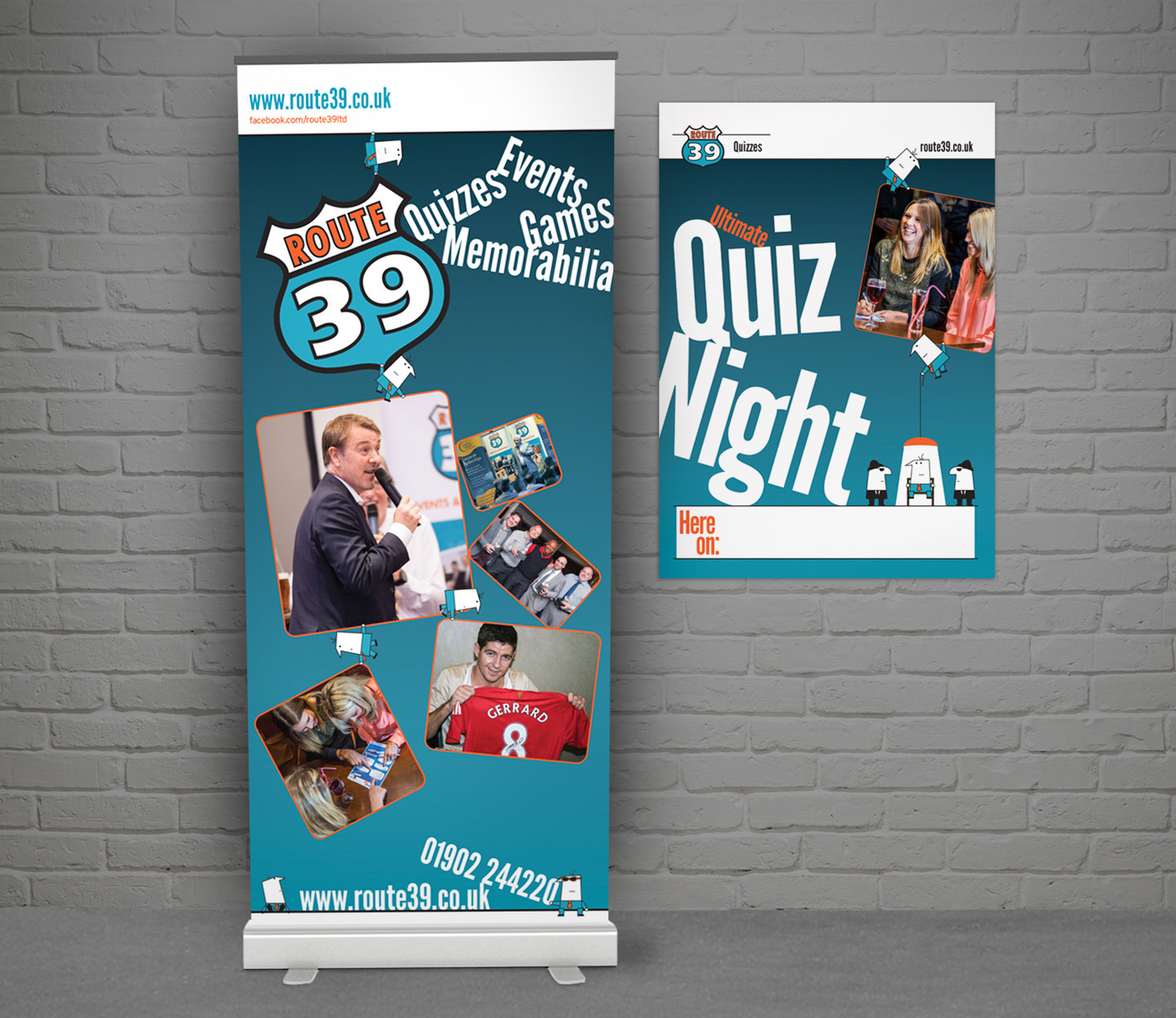 Marketing collateral –banner and poster